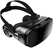 3D VR Goggle Virtual Reality Headset W/Headphone, 360° VR Viewer Set Fit for Iphone 11 Pro XS XR X 8 + Samsung