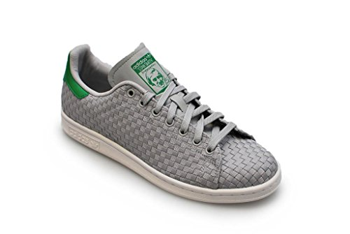 Adidas Stan Smith, Sneaker Unisex adulto Grey White Green