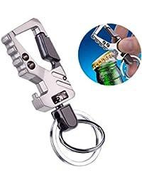 Kolossalz Double Ring Hook Keychain for car & Bike || Man & Boys Keyring