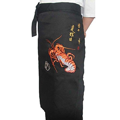 Koreanische Küche Japanische Sushi Schürzen Chef-Taille Schürze Server Schürze Restaurant Schürze, 06 -