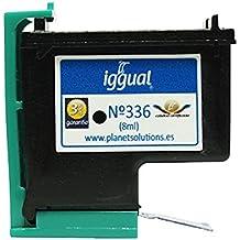 Iggual HP Nº 336 C9362E - Cartucho reciclado, color negro