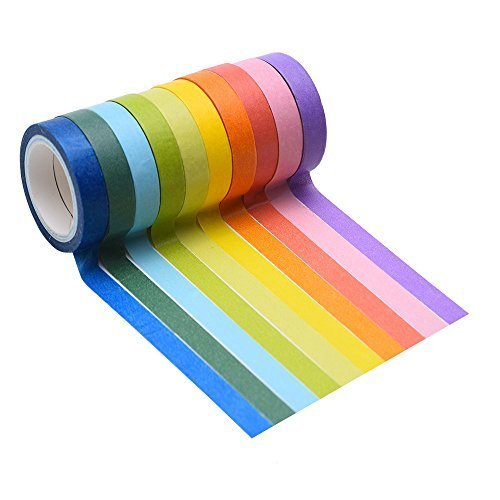 mudder-10-rolls-decorative-washi-tape-diy-sticker