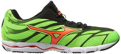 Mizuno Wave Hitogami 3 Synthetik Laufschuh Green/Orange/Black