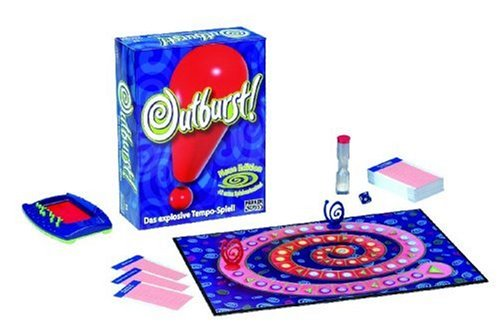 Hasbro - Outburst! Das explosive Tempo-Spiel