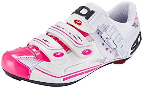 Sidi Genius 7 Fahrradschuhe Damen white/pink fluo 2017 Mountainbike-Schuhe