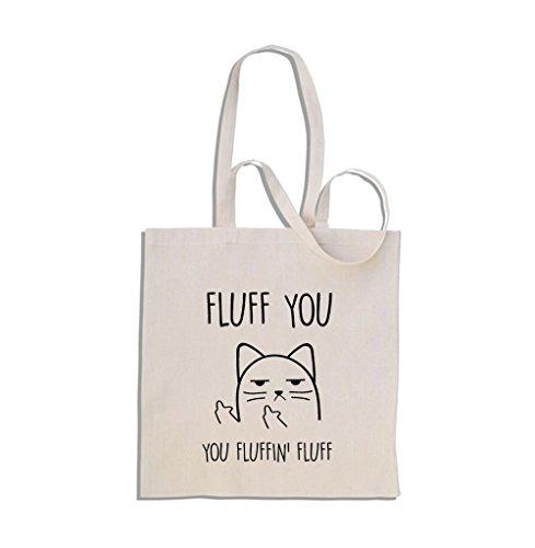 fluff-you-you-fluffin-fluff-gatto-impolito-cat-shopping-bag-di-cotone