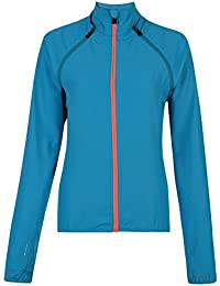Dare 2b Women's Unveil Wind Shell Jacket-Fluorescent Yellow, Size 8