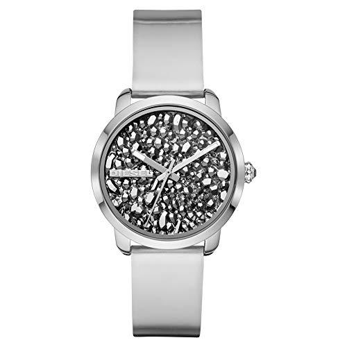DIESEL Flare Rocks DZ5582 Reloj de Pulsera para Mujeres