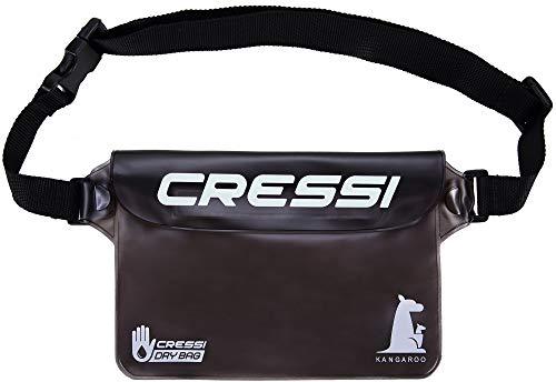 Cressi Kangaroo Dry Pouch, Marsupio Impermeabile Unisex, Carbone