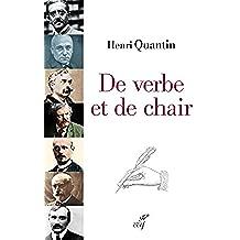 De verbe et de chair (French Edition)