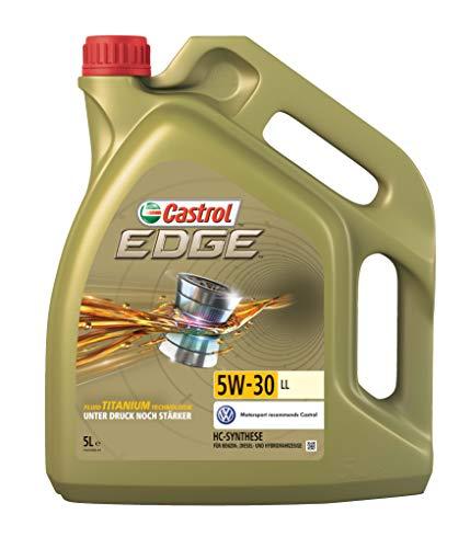 Castrol 57420 EDGE Titanium Aceite para Motor FST 5W-30 LL, 5L (Sello...