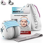 Alpine Baby Muffy Casque Anti bruit bébé : protection auditive pour bébés et tout-petits jusqu'à 36 mois -