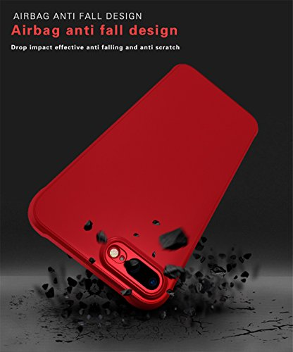 Coque iPhone 7 Plus / iPhone 8 Plus, Forhouse Elegant Soft TPU Silicone Etui Slim Housse de Protection Anti choc Anti-fall Couverture Phone Case [Trou Sonore Spéciale Design] Renforcé Resistant Absorp Bleu
