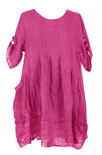 Generic -  Vestito  - Donna Cerise Pink