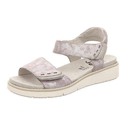 janashoes Jana [Leath Grey/Silver