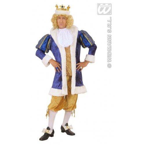 Kostüm King Royal - WIDMANN XL Royal King Kostüm XL für Mittelalter Königskostüm Mittelalter
