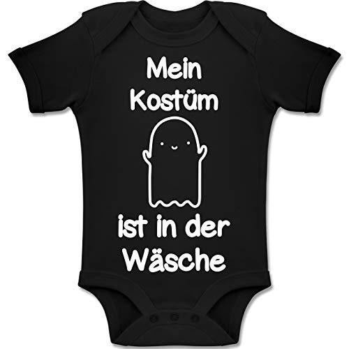 Shirtracer Anlässe Baby - Mein Kostüm ist in der Wäsche - 12-18 Monate - Schwarz - BZ10 - Baby Body Kurzarm Jungen Mädchen