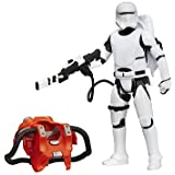 Hasbro – B3894 – Star Wars : The Force Awakens – Flametrooper de la Primera Orden – Figura 9 cm + Armadura