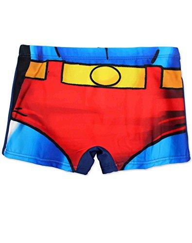 enzierte Superman-Kostüm Druck Badeshorts Alter 9-10 Jahre (Superman Kostüm Shorts)