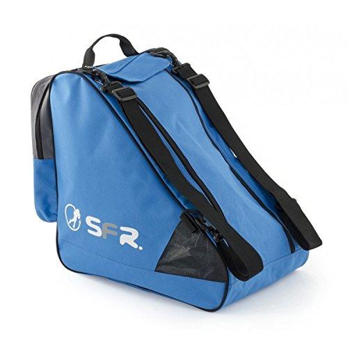 Sfr Skates Unisex-Erwachsene Large Ice Bag Stofftasche, Mehrfarbig (Blue/Grey), 24x15x45 Centimeters