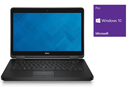 Dell Latitude E5440 Notebook | 14 Zoll Display | Intel Core i5-4310U @ 2,0 GHz | 8GB DDR3 RAM | 250GB SSD | DVD-Brenner | Windows 10 Pro vorinstalliert (Zertifiziert und Generalüberholt)