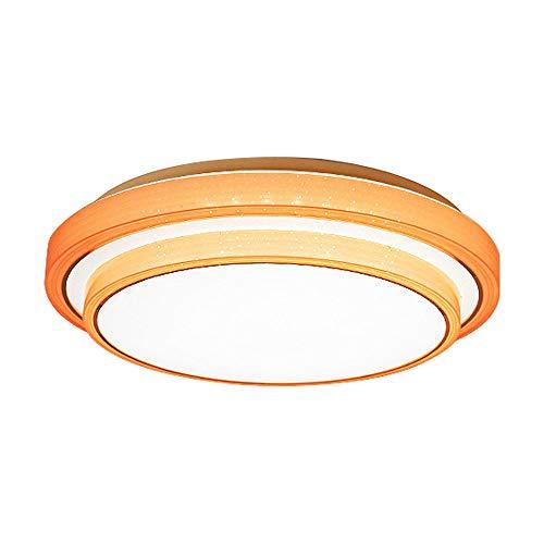 ZCHUXYE Led deckenleuchte 36 watt acryl Schlafzimmer Wohnzimmer Lampe Balkon küche Beleuchtung (orange)