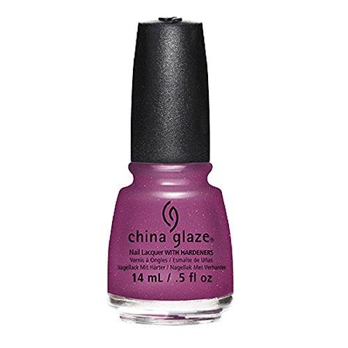Esmalte de uñas China Glaze con endurecedores, 14 ml, cierra la puerta delantera.