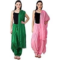 Filter Product's Women Pure Cotton Patiala With Dupatta (Free Size)