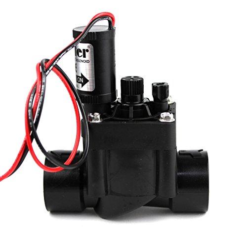 """Hunter PGV-100G-B 9V - Electroválvula de riego, 1"""", Color Gris"""