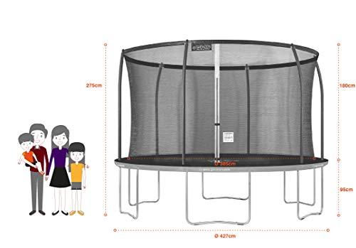 Zoom IMG-1 greaden trampolino da giardino rotondo