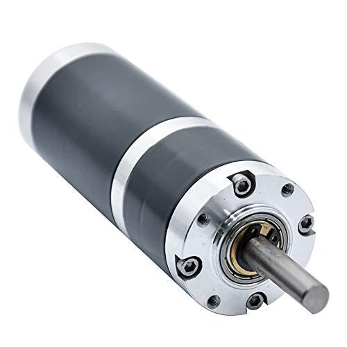 DC Planetengetriebe Getriebe Reduktion Motor 12V 24V 4/10/15/30/200/300/500 U/min Gleichstrommotor mit Durchmesser 38mm und Hohem Drehmoment für DIY-Generator (500 rpm, 24 V) (Min Motor / U Hohe)