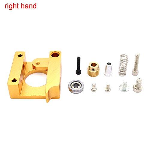 lzn 3D Printer MK8 1.75mm Remote Extruder Kit All-Metall Rahmen Unterstützung für Makerbot Reprap Aluminium Motor Mount
