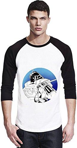 Graphic Sodom Illustration Unisexe Baseball Shirt Large