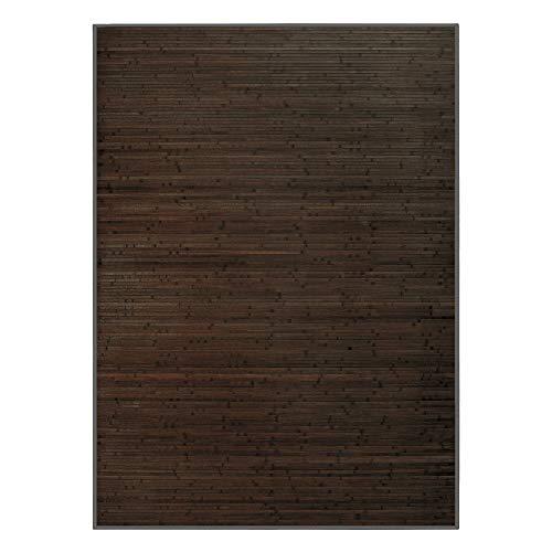 Alfombra de Salón o Comedor, Marrón, de Bambú Natural de 200 X 300 cm, Natur 200x300 - Hogar y Más...