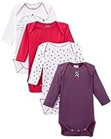 Absorba Underwear - Body - Lot de 4 - Bébé fille