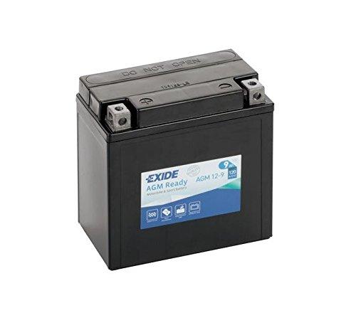 Exide Bike Boot Batterie GEL12-19 (Für ABS geeignet) - 12V - 19Ah - 170A EN Kaltstart