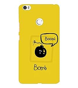 EPICCASE Boom Bomb Mobile Back Case Cover For Xiaomi Mi Max (Designer Case)