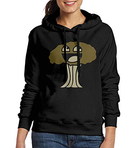 Laura Longman Sweatshirt Hooded Happy Atom Bomb Orig DIY