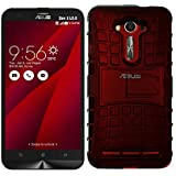 BLATE PREMIUM DUAL LAYER SHOCKPROOF HYBRID RUGGED ARMOR KICKSTAND BACK COVER CASE FOR ASUS ZENFONE 2 LASER 5.5