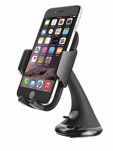 Trust Urban - Soporte de móviles para coches, color negro