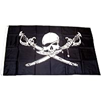 FahnenMax – Bandera pirata con sable y daga ...