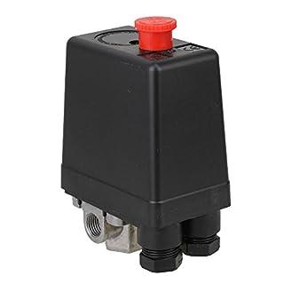 BQLZR Vertical Type 4 Port Air Compressor Pressure Switch Control Valve 80-115 PSI