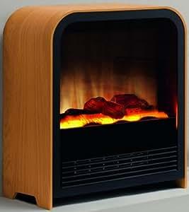 Ewt nyman radiateur lectrique effet chemin e import - Radiateur effet cheminee ...