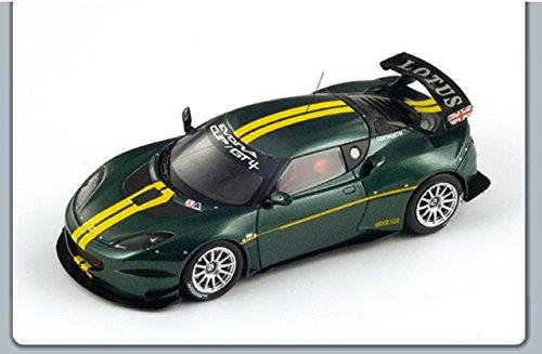 lotus-evora-type-124-cup-2010-143-spark-model-auto-competizione-modello-modellino-die-cast