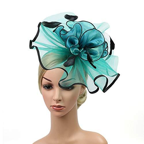 Sasstaids Haarschmucks Kopfschmuck Feder Flapper Stirnband Kopfschmuck Vintage Prom Great Gatsby ()