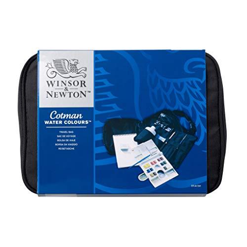 Winsor & Newton Cotman Trousse Per Viaggio 12 mezzi godet