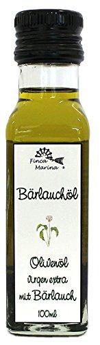Bärlauchöl - Olivenöl mit Bärlauch 100ml Probiergröße