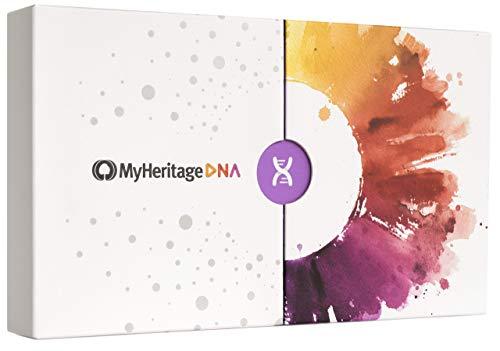 Kit de pruebas de ascendencia de MyHeritage DNA - Pruebas genéticas de ADN para descubrir orígenes étnicos y encontrar familiares