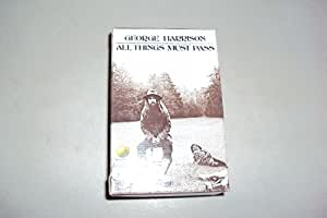 All Things Must Pass [CASSETTE]