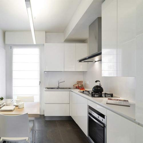 KINLO 1 Rotolo Adesivo per Cucina 5M x 0.61M / Rotolo, PVC...
